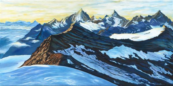 """Alps At Morning"" Art | Bonnie Sailer Fine Art"