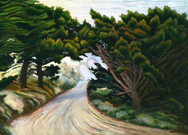 """Rocky Point Road"" Art   Bonnie Sailer Fine Art"