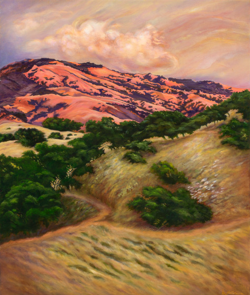 """Sunset Over Devil Mountain"" Art   Bonnie Sailer Fine Art"
