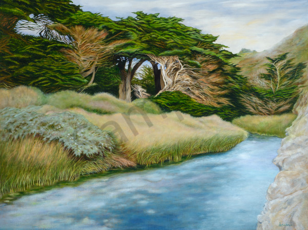 """Pfeiffer Beach Upstream"" Art | Bonnie Sailer Fine Art"