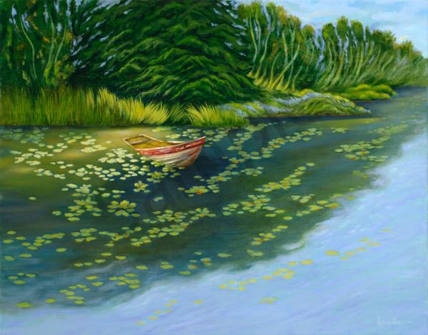 """Abandoned Boat"" Art | Bonnie Sailer Fine Art"
