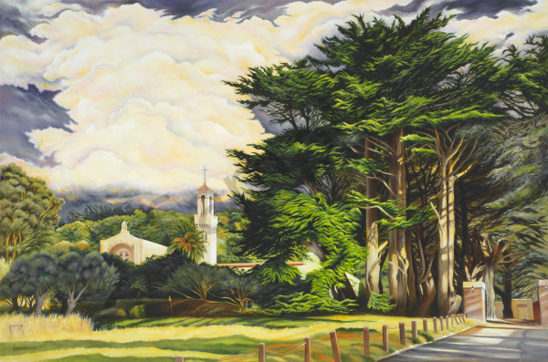 """Carmelite Monastery   Before The Rain"" Art | Bonnie Sailer Fine Art"