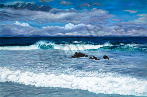 """Pacific Grove Surf"" Art 