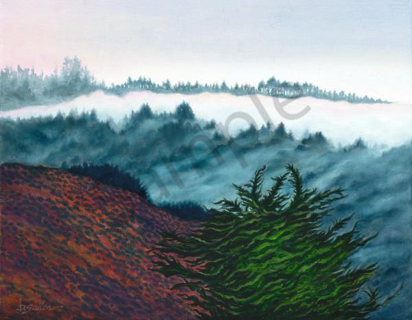 """Fog Over Fish Ranch"" Art | Bonnie Sailer Fine Art"