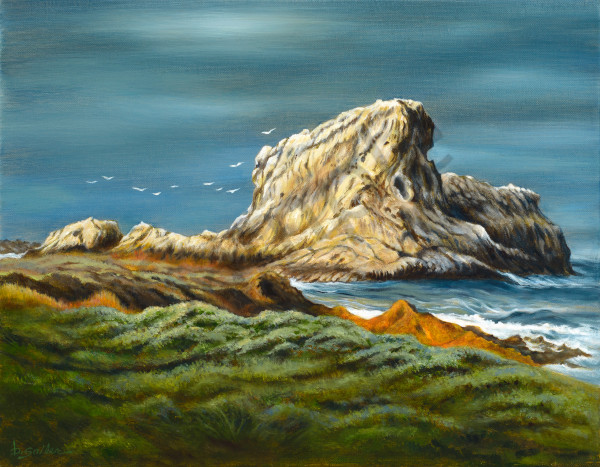 """Lion Rock"" Art 