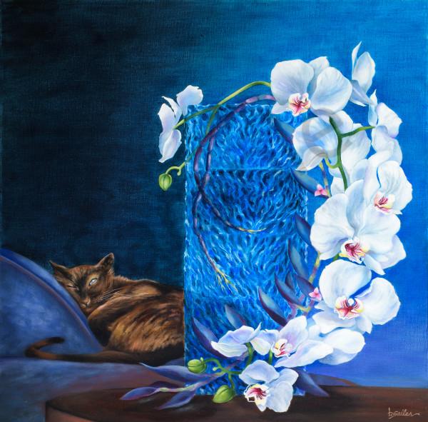 """Coco's Slumber"" Art | Bonnie Sailer Fine Art"