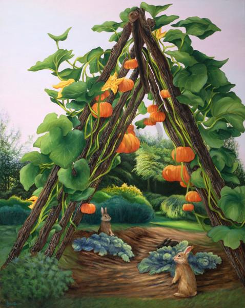 """""""Pumpkins and Pet Rabbits"""""""