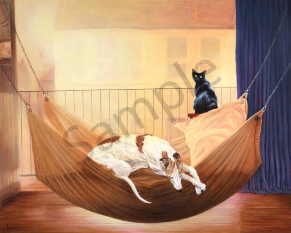 """Summer Morning, Dashiell And Dewey"" Art | Bonnie Sailer Fine Art"