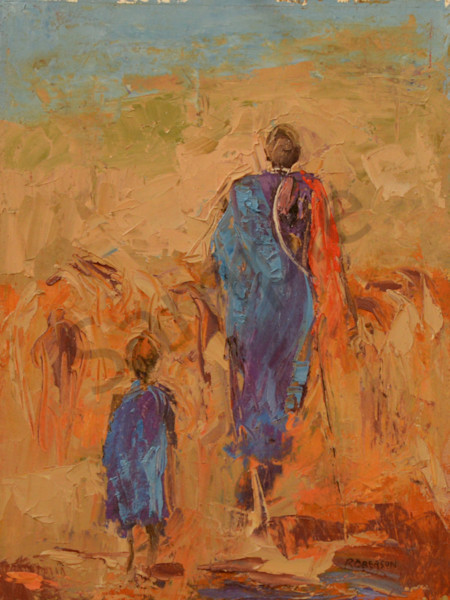 New Maasai Art by Mary Roberson