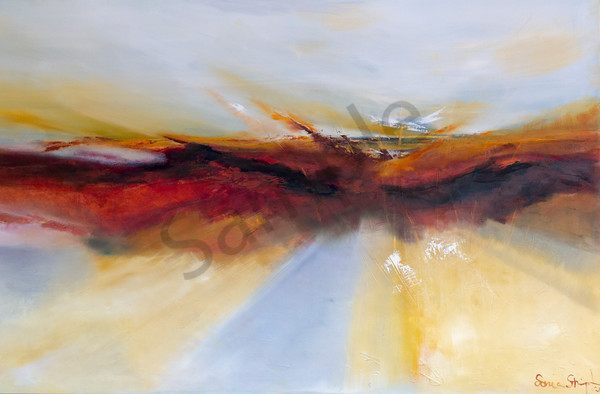 """New Horizon Path"" by South African artist Sonia Strumpfer 