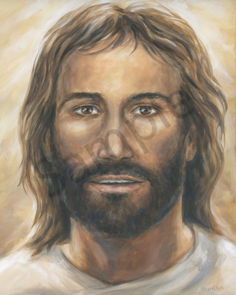"""Encounter Jesus Portrait"" by Melani Pyke 