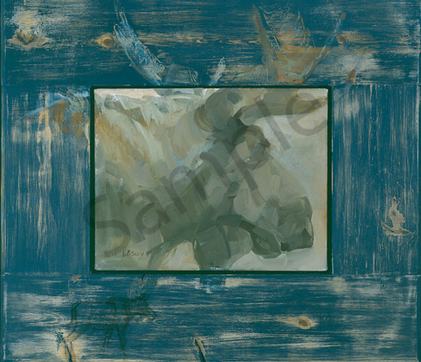 Once In A Blue Moose Art | Mary Roberson