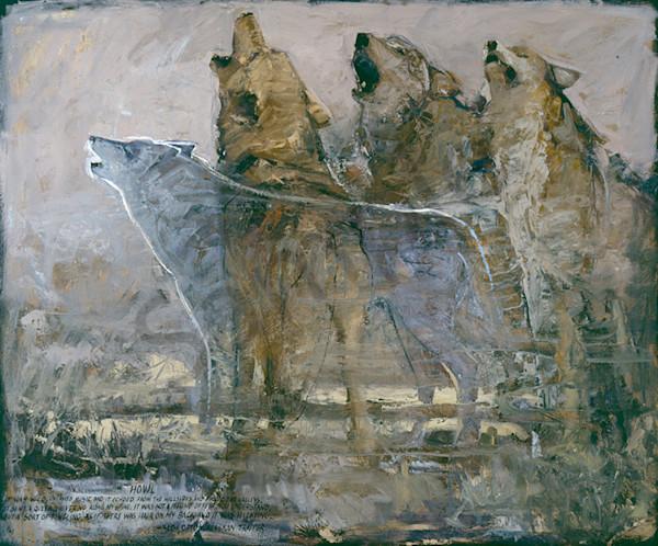 Howl Art | Mary Roberson