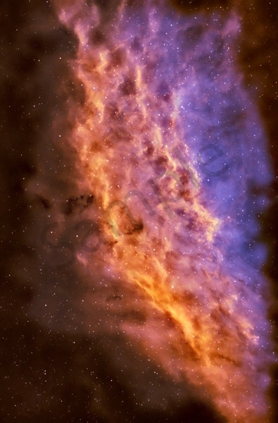 California Nebula 2 Photography Art by DarkSkyImagesByKen.com