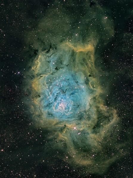 Lagoon Nebula (Green) 1