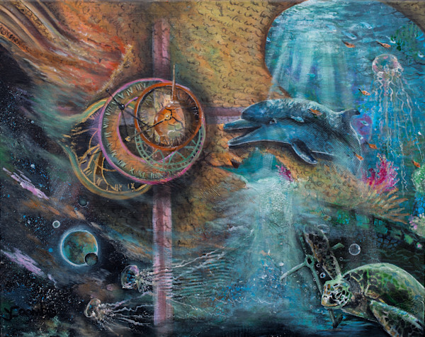 """Unraveling"" by Yvonne Coombs 