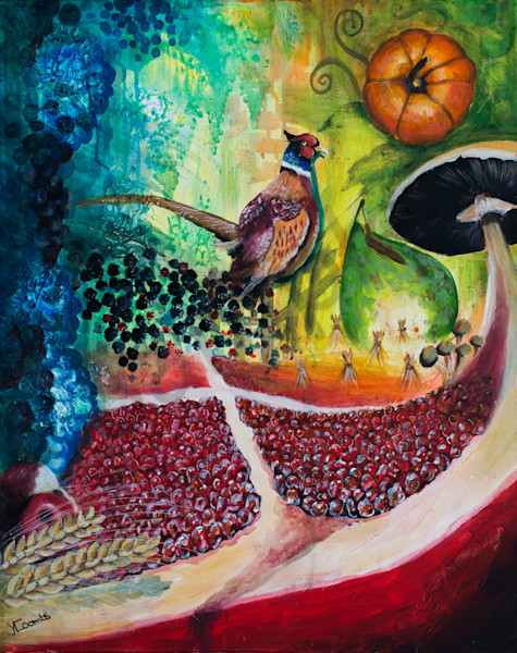 """Bringing In The Harvest"" by Yvonne Coombs 