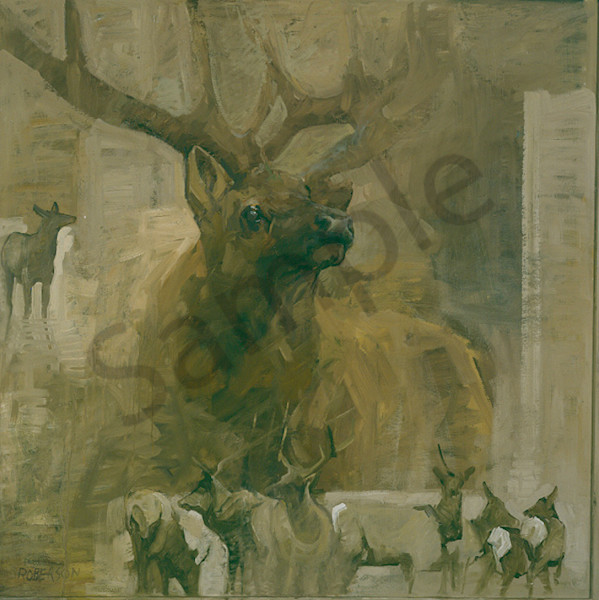 The Rut Art | Mary Roberson