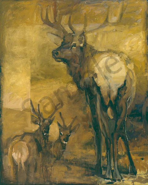 It S Just An Elk Thing Art | Mary Roberson
