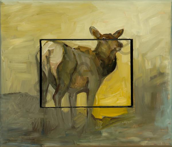 One Eye On The Bull Art | Mary Roberson