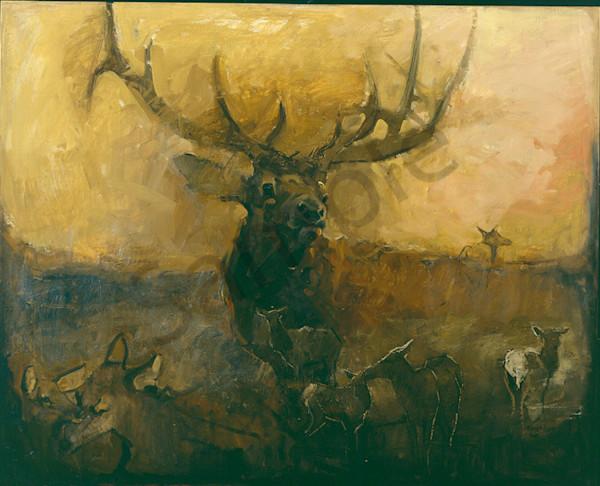 Wyoming Sunset Art | Mary Roberson