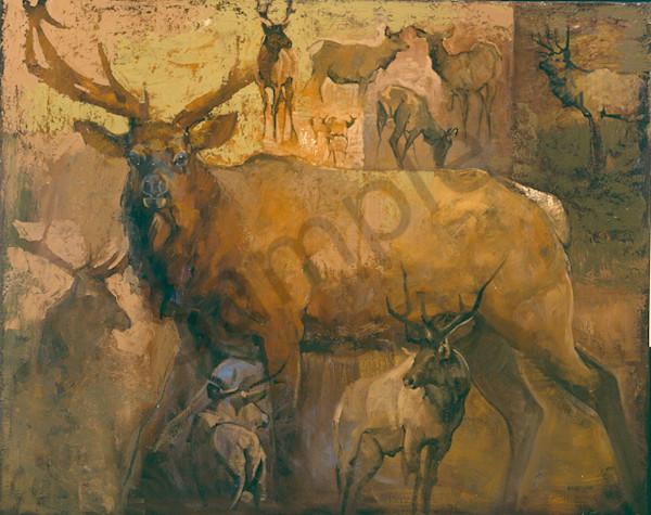 Elk Art | Mary Roberson