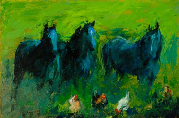 Symbiosis20x30 Art | Mary Roberson
