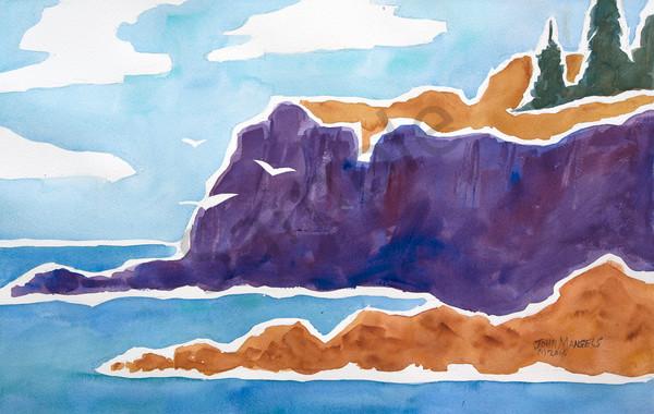 Purple Cliff