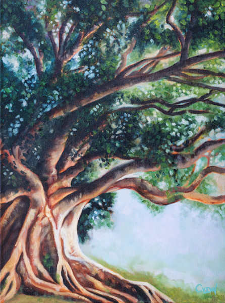 """""""Rooted In The Light 1"""" by Candice Van der Westhuizen 