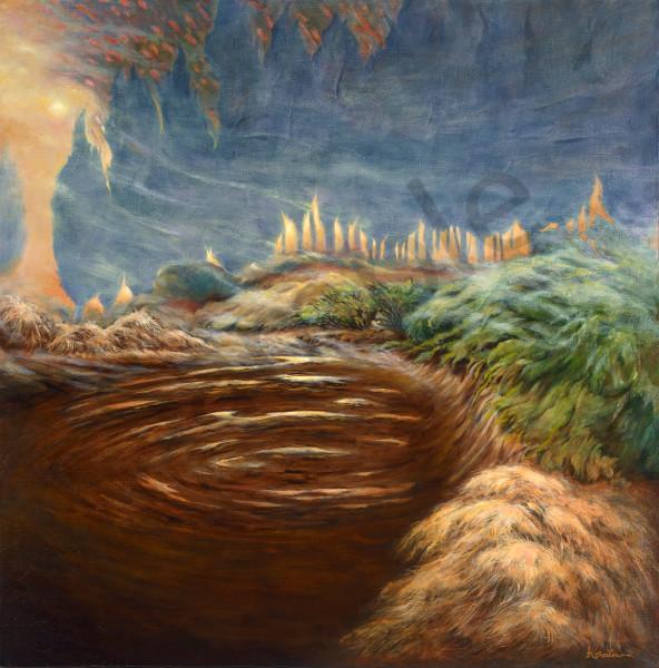 """Misty Morning Cypress""   ""Dream Series"" Art   Bonnie Sailer Fine Art"