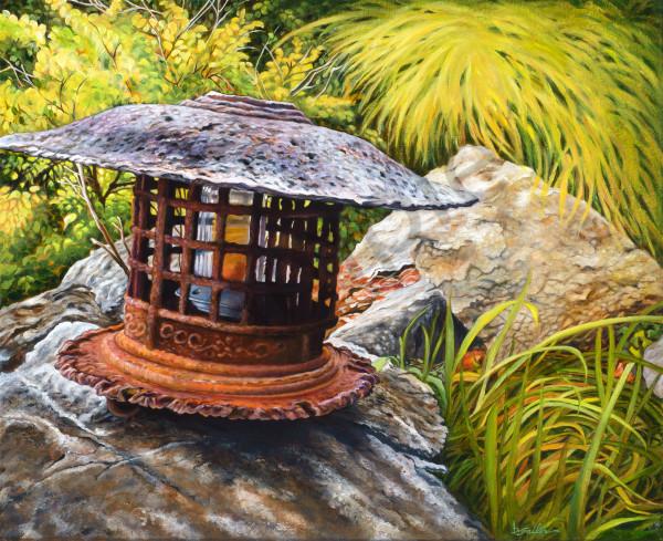 """Nepenthe Chinese Pagoda Lantern"" Art | Bonnie Sailer Fine Art"