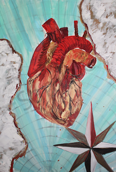 """Alignment Of The Heart"" by United Kingdom artist Fiona Jones 