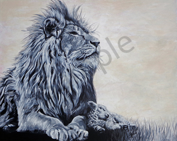 """The Lion and The Lamb"" by Jennifer Swoyer 