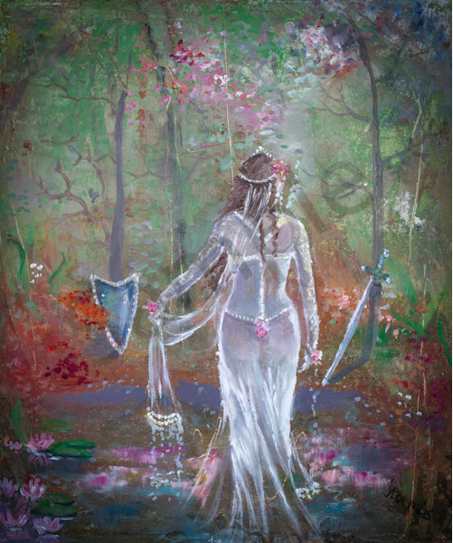 """""""Into Her Destiny"""" by Yvonne Coombs 