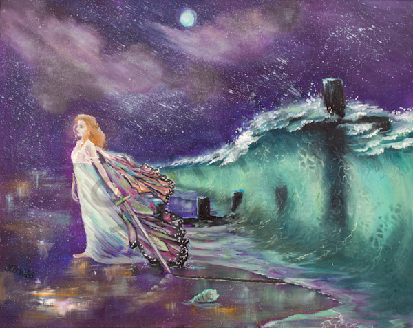 """""""Overcoming"""" by United Kingdom artist Yvonne Coombs 