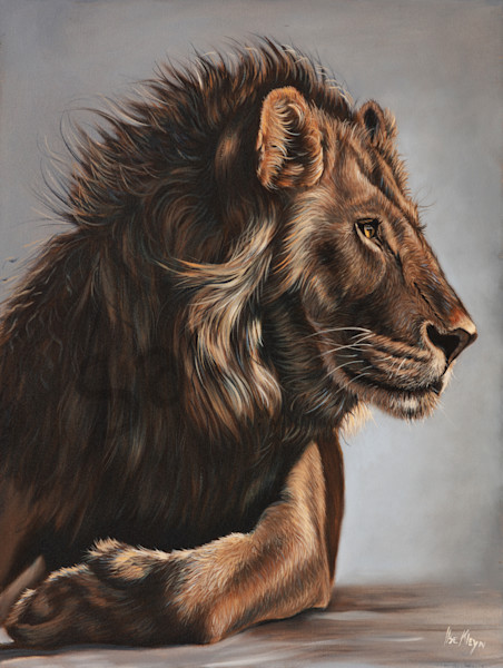 """Royalty"" by South African artist Ilse Kleyn 