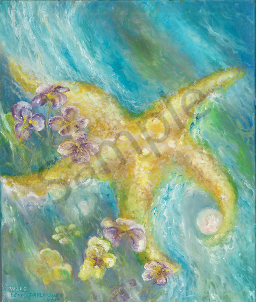 """Wave"" by Prophetic Artist Denise Dahlheimer 