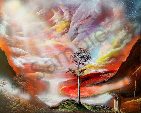 """River Of Life"" by Denmark Artist Bo Shultz / Prophetics Gallery"