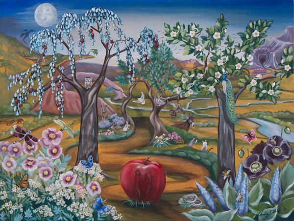 """Garden Of Eden"" by Wendy L. Wolf / Prophetics Gallery"