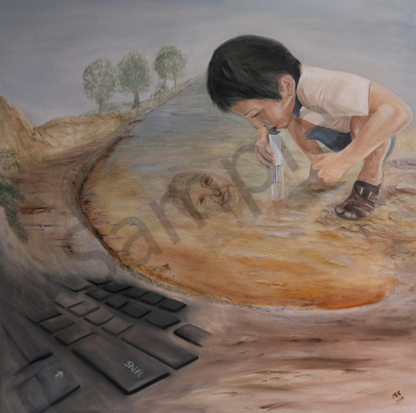 """Helping Innovation"" by Ildiko Mecseri / Prophetics Gallery"