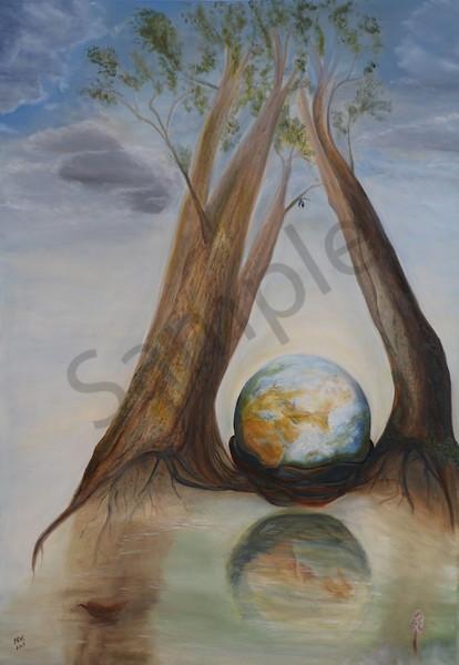 """Hydro Balance"" by Hungarian Artist Ildiko Mecseri / Prophetics Gallery"