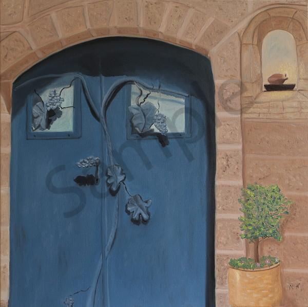 """Knock"" by Hungarian artist Ildiko Mecseri / Prophetics Gallery"