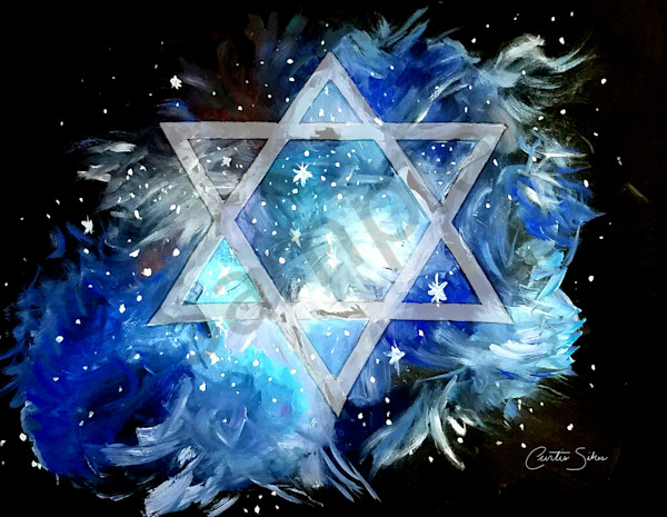 """Star Of David"" by Curtis Sikes / Prophetics Gallery"