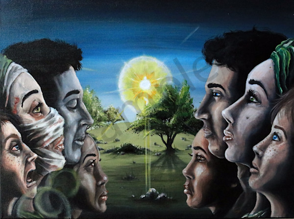 """The Great Commission"" by Illinois Prophetic Artist Jordan Murphy / Prophetics Gallery"