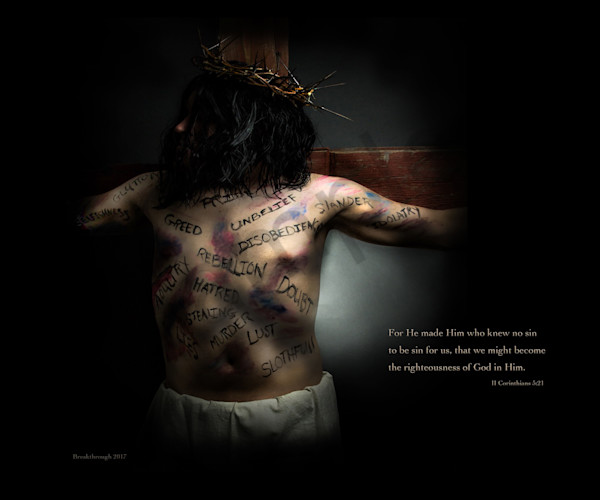 """He Became Sin"" by Michigan Fine Art Digital Photographer Kimberly Fletcher / Prophetics Gallery"