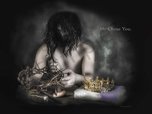 """He Chose You"" by Kimberly Fletcher 