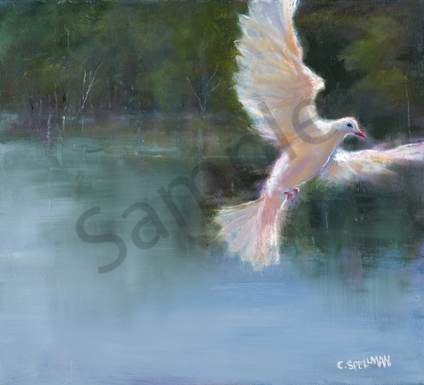 """Peace Be With You"" by Cynthia Spellman 