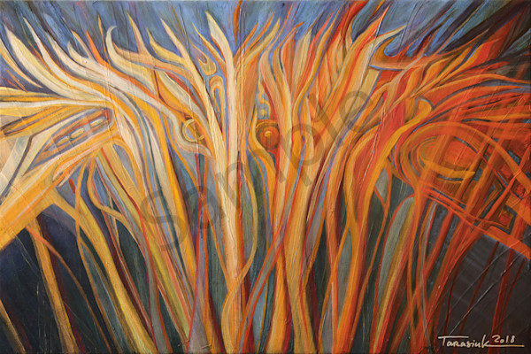 """The Fields Are White For Harvest"" by Ukraine artist Anatolii Tarasiuk | Prophetics Gallery"
