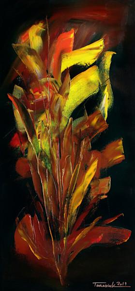 """Tongues Of Fire"" by Ukraine Artist Anatolii Tarasiuk | Prophetics Gallery"