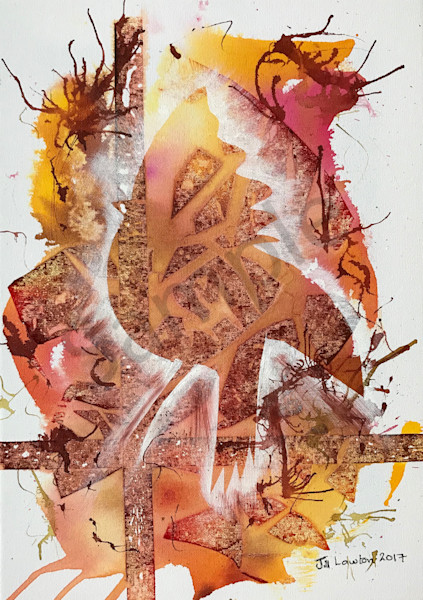 """Herald"" by South African artist Jill Lawton | Prophetics Gallery"